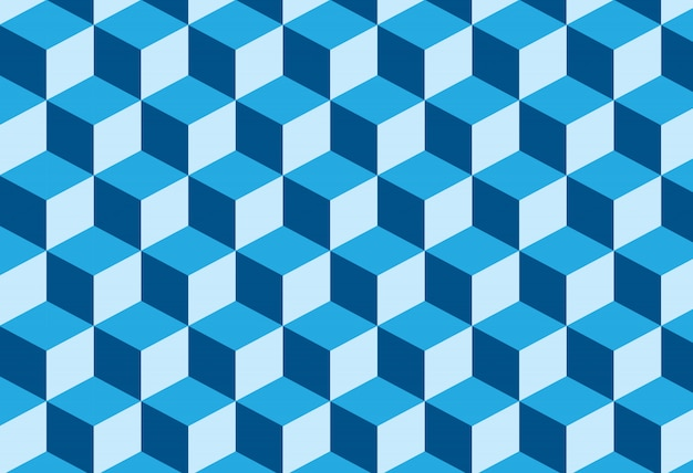 Fond hexagonal abstrait tridimensionnel