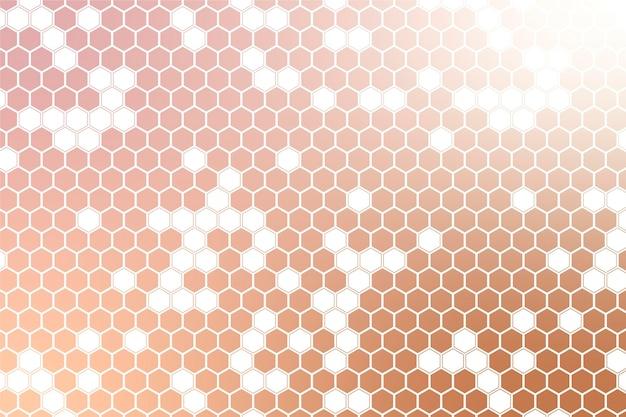 Fond hexagonal dégradé