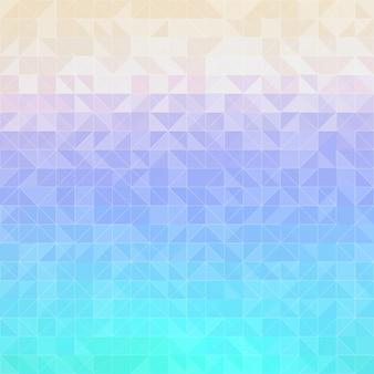 Fond d'hexagones, effets de lumière, lumière brouillée.