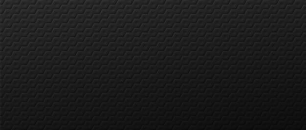 Fond d'hexagones en métal vague sombre. carreaux polygonaux à grille géométrique posés en résumé