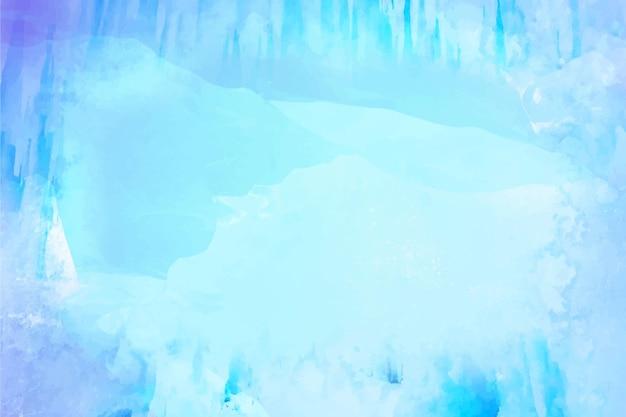 Fond d'hiver de couleurs fraîches