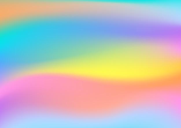 Fond hologramme créatif arc-en-ciel