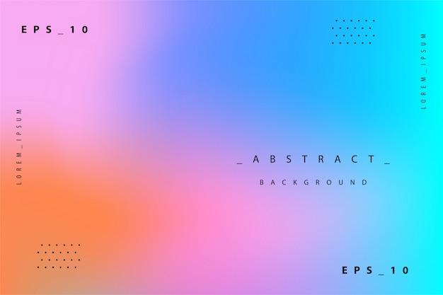 Fond holographique dégradé coloré abstrait