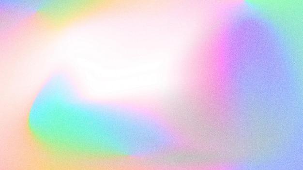 Fond holographique granuleux