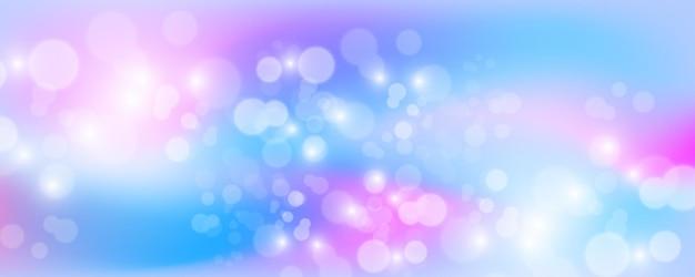 Fond holographique lumineux avec des étincelles, illustration vectorielle.