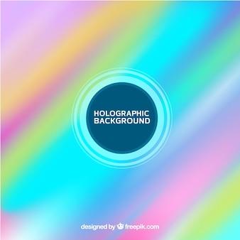 Fond holographique multicolore