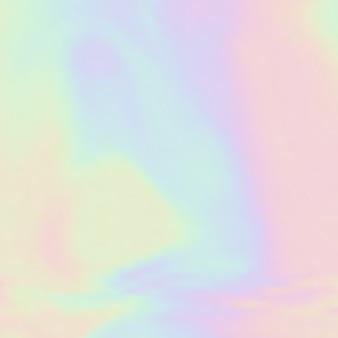Fond holographique à thème de couleur licorne