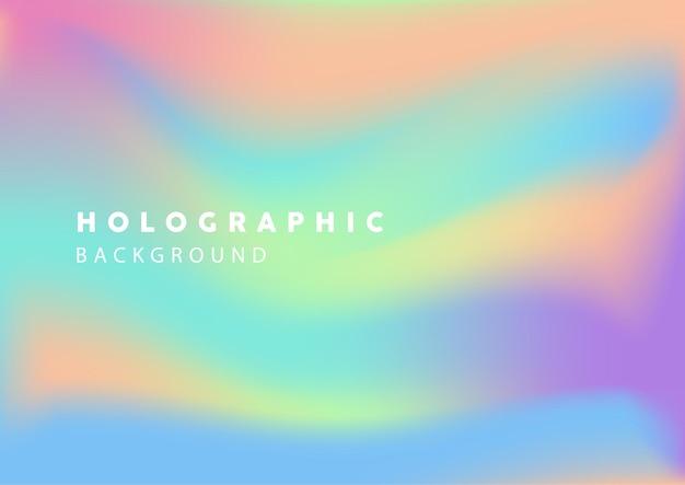 Fond holographique