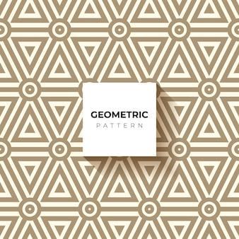 Fond hypnotique marron et blanc. modèle sans couture abstraite.