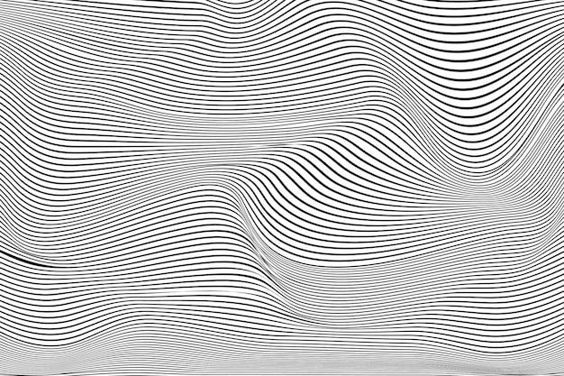 Fond d'illusion d'optique psychédélique