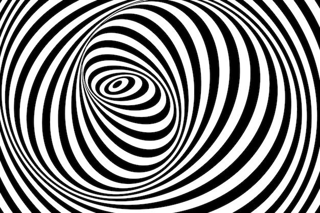 Fond d'illusion psychédélique