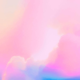 Fond d'image pastel nuageux de vecteur