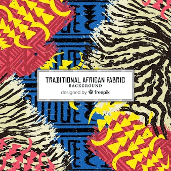 Fond imprimé traditionnel africain