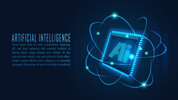 Fond d'intelligence artificielle