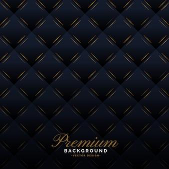 Fond d'invitation premium rembourrage sombre