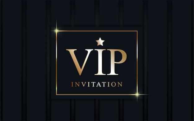 Fond d'invitation vip de luxe.