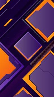 Fond de jeu abstrait géométrique