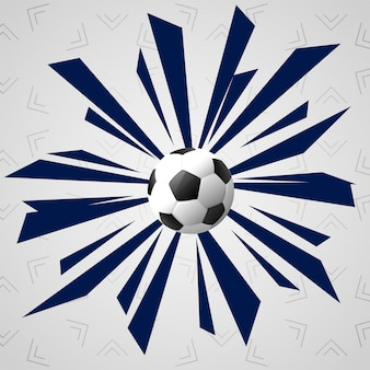 Fond de jeu de sport abstrait football