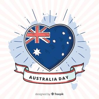 Fond de jour australie dessinés à la main