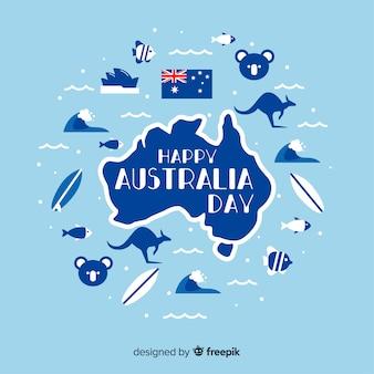 Fond de jour australie