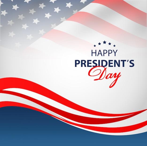 Fond de jour heureux présidents.