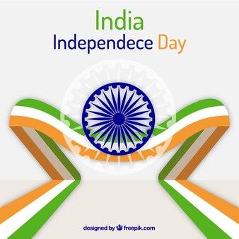 Fond de jour de l'indépendance indienne moderne