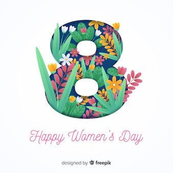 Fond de la journée des femmes