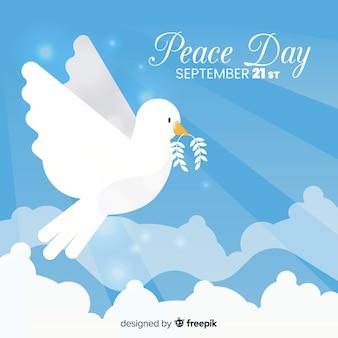 Fond de la journée de la paix