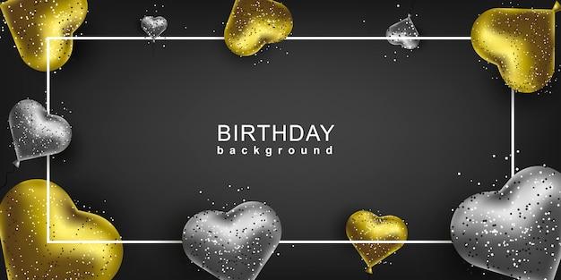 Fond de joyeux anniversaire pour carte de voeux
