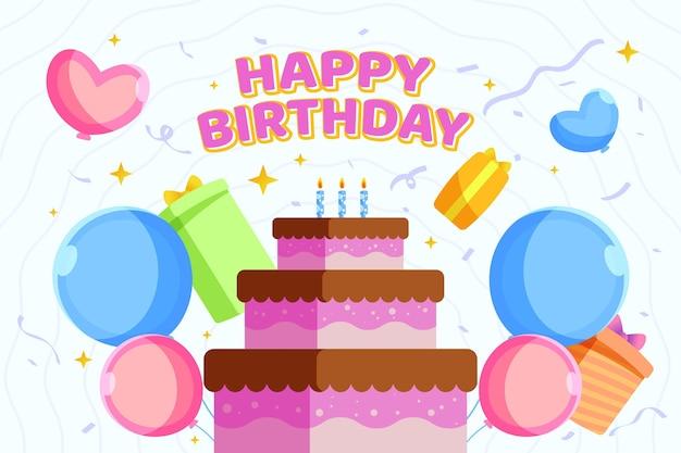 Fond de joyeux anniversaire