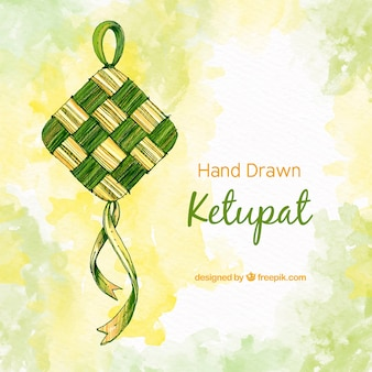Fond de ketupat traditionnel
