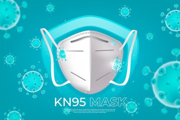 Fond de kn95 réaliste