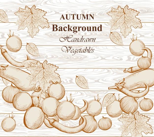 Fond de légumes automne