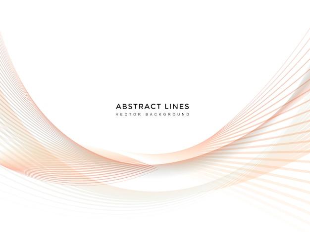 Fond de ligne abstraite