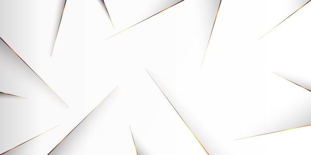 Fond de ligne dorée concept abstrait