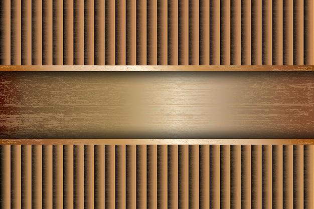 Fond de ligne géométrique abstraite avec effet de paillettes de luxe or
