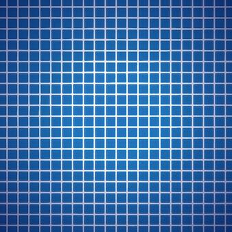 Fond de ligne de grille bleue
