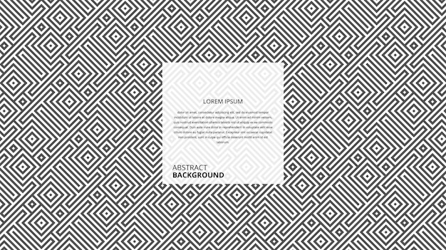 Fond de lignes carrées diagonales géométriques abstraites
