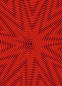 Fond de lignes de dégradé abstrait rouge