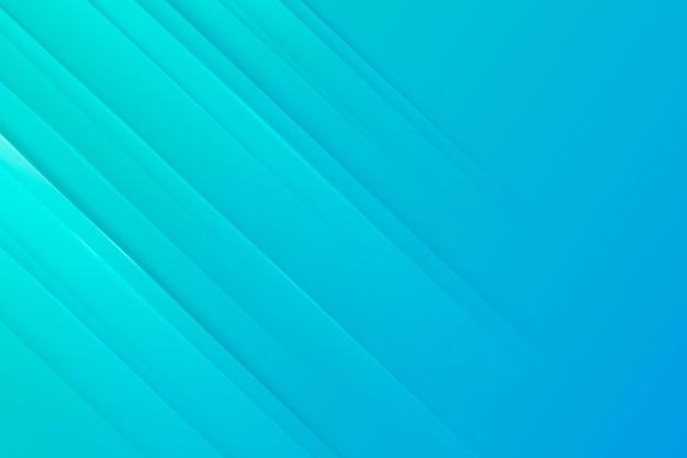 Fond de lignes dynamiques bleu dégradé