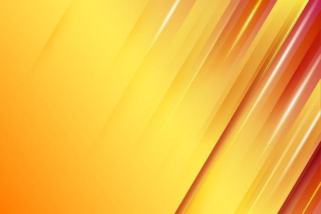 Fond de lignes dynamiques de couleur dégradée