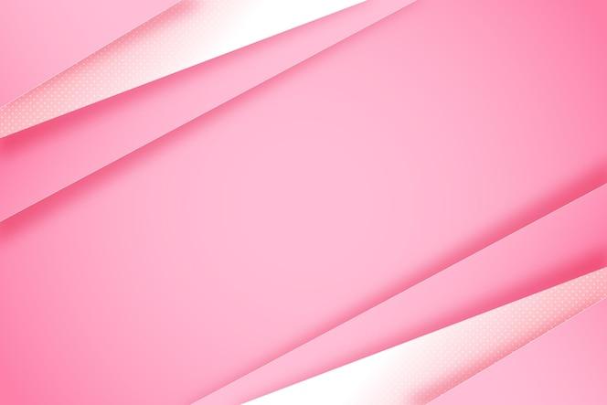 Fond de lignes dynamiques de style papier