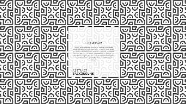 Fond de lignes de forme géométrique abstraite avec exemple de modèle de texte