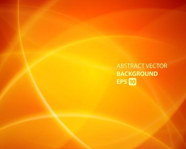 Fond de lignes de forme géométrique abstraite orange.