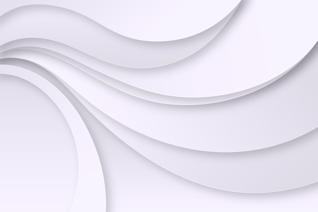 Fond de lignes monochromes blanches