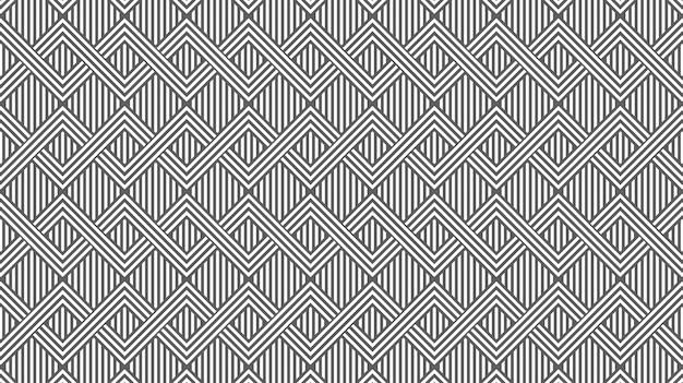 Fond de lignes de zigzag horizontal décoratif abstrait