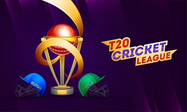 Fond de la ligue de cricket t20