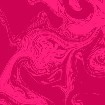 Fond liquide de marbre moderne en rose