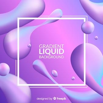 Fond liquide réaliste