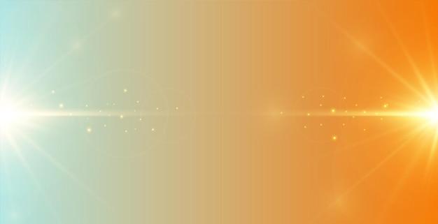 Fond de lueur abstraite avec effet de lumière